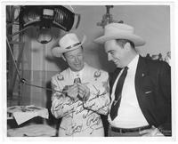 Frank G. Clement and Roy Rogers