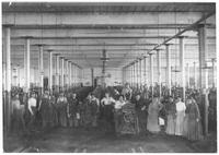 Workers at Bemis Cotton Mill