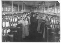 Boys and girls at Bemis Cotton Mill