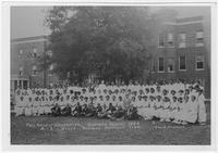 President William J. Hale and Summer School Graduates, 1924