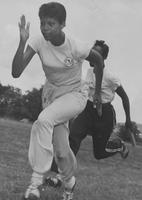 Wilma Rudolph and Lucinda Williams train for the 1959 Pan American Games