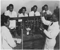 Chemistry Class at Tennessee A & I State College in 1950