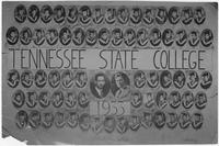 Commencement Class of Tennessee Agricultural and Industrial State College, 1933