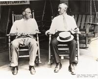 Photograph of John T. Scopes and His Father