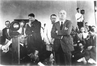 Photograph Inside Courtroom During Scopes Trial