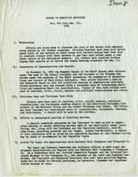 NAACP Report of Executive Secretary, Nov. 8th thru Dec. 5th, 1961