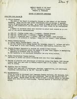 NAACP Report of Executive Secretary, July 19th thru August 1, 1961