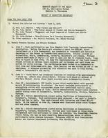 NAACP Report of Executive Secretary, June 7th thru July 18th, 1961