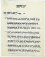 NAACP Report of Executive Secretary, November 5th thru December 2nd, 1969