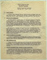 NAACP Report of Executive Secretary, June 3rd thru July 7th, 1964