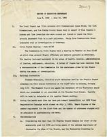 NAACP Report of Executive Secretary, June 6th thru July 10th, 1962