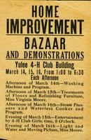 Flyer for Bazaar