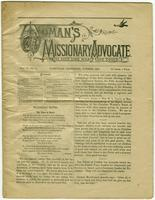 Woman`s Missionary Advocate