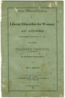The Importance of a Liberal Education for Woman