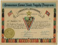 Tennessee Home Food Supply Program