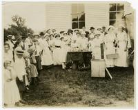 Canning Demonstration, Riverdale School_Rally_Knox Co. 1913.