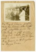 [Virginia P. Moore and Mrs. Thomas Alva Edison with an unnamed lady and a gentleman, possibly in Fort Myers, Florida.]