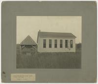 Rear View of New Mouse Creek School Building -BRADLEY COUNTY-
