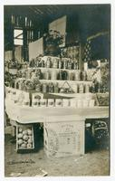[Anderson County Canning Club Exhibit at the Clinton Fair, September 1915.]