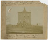 Maury Academy in 1907-'08 Before any improvements were made.