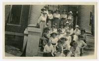 Women who attended the Campbell County Court, July 1, 1917, in interest of home demonstration work appropriation