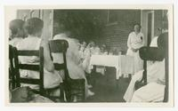 [short course on tablesetting at Carson-Newman College.]