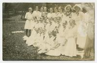 Tomato Girls who were at Mineral Park July 10, 1912. Bradley, Co.