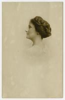 [Portrait photograph of Mrs. J.B. Lauderbach, County Collaborator.]