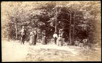 Guests at Melrose Spring Hotel. Blount Co. Tenn. -taken by request