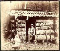 Dorsey's cabin in Middle Fork of Little River