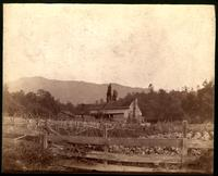 Squire D. B. Lawson's house. Cade's Cove - Blount Co. Tenn.