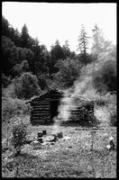 Fisherman's Shack. Three Forks - Spent the night in this Cabin with Charley [Gibson] and Tom [Brightwell]