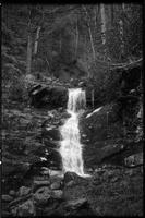 A little waterfall on the wild and untrailed Roaring Fork