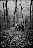 House Mtn. [with] Mildred W[ebster], Sammy Downey, [and] Tom Brightwell