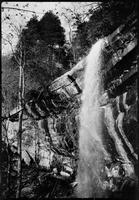 Rainbow Falls. Very Special. Made with box camera