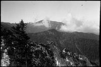Mt. Leconte from trail beyond Dry Sluice Gap going East
