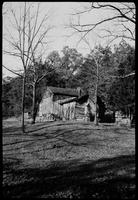 Special negative of John Oliver Home. Cades Cove