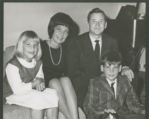 Image of Howard Baker with Family