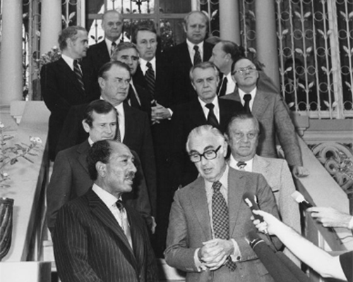 Images of Howard Baker with International Leaders